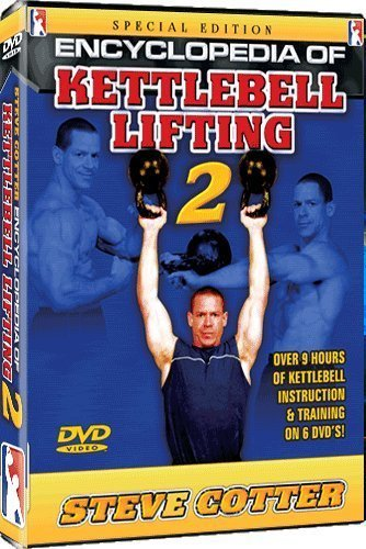 Stever Cotter - Encyclopedia of Kettlebell Lifting Series 2 - DVD by Shihan