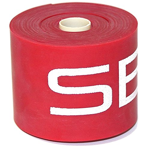 "Serious Steel Mobility & Recovery (Floss) Bands |Compression Band | Tack & Flossing Band (7' L x 2"" W)Quick Start e-Guide INCLUDED (Red)"