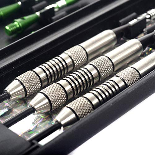 CUESOUL Tungsten Steel Tip Darts 90% Tungsten - Precise Barrels 24 Grams