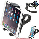 Image of Charger City Hdx2 Strap Lock Mount For In Door Bicycle Treadmill Exercise Spin Bike Helm W/Tablet Smar