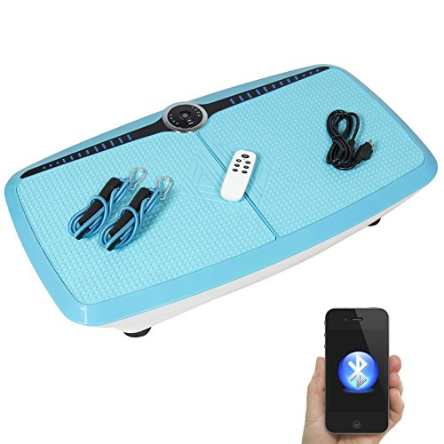 Best Choice Products Dual Motor Full Body 3 D Vibration Platform W/Bluetooth Audio Connection Fitness
