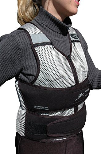 Ironwear Cool Vest (Long) Soft Flex Metal@ Weights, Breathable 1 To 30 Lb. Weighted Vest Made In Usa