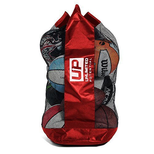 Unlimited Potential Mesh Equipment Bag   Adjustable, Sliding Drawstring Cord Closure. Perfect Mesh B