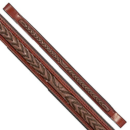 Exselle Fancy Stitched Laurel Leaf Brow Band by Exselle