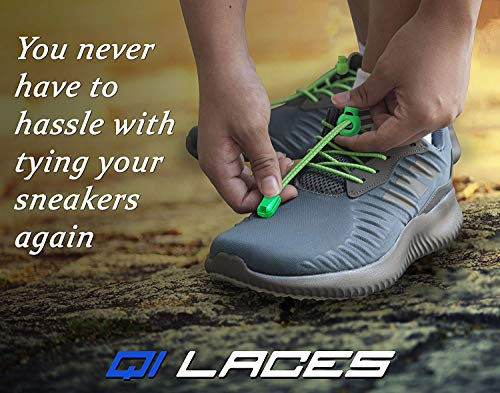 Qi Laces No Tie Shoelaces for Kids & Adults