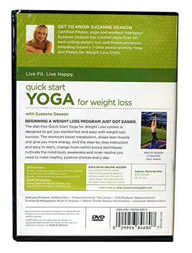 Quick Start To Yoga For Weight Loss