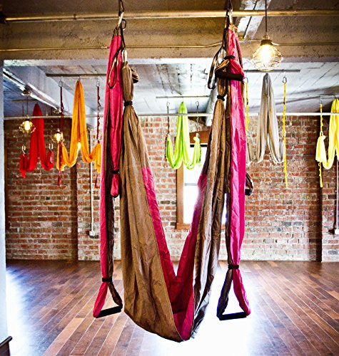 Aerial Yoga Swing   Gym Strength Antigravity Yoga Hammock   Inversion Trapeze Sling Exercise Equipme