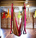Image of Aerial Yoga Swing   Gym Strength Antigravity Yoga Hammock   Inversion Trapeze Sling Exercise Equipme