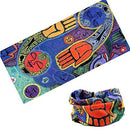 Image of Cycling Headband Thick Absorbent Head Wrap Face Shield Scarves (Abstraction)