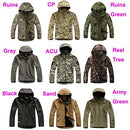 Image of Waterproof Military Tactical Combat Softshell Jacket Outdoor Camping Hiking Camouflage Hoodie Coat (Ruins Green, XXXL)