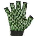 Image of Optimum Unisex Senior Original Skit Mits Gloves, Black/Green, Small