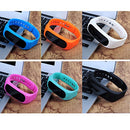 Image of SBX Smart Sport Bluetooth Silicone Bracelet,Healthy Assistant Bluetooth 4.0 Sports Intelligent Weara
