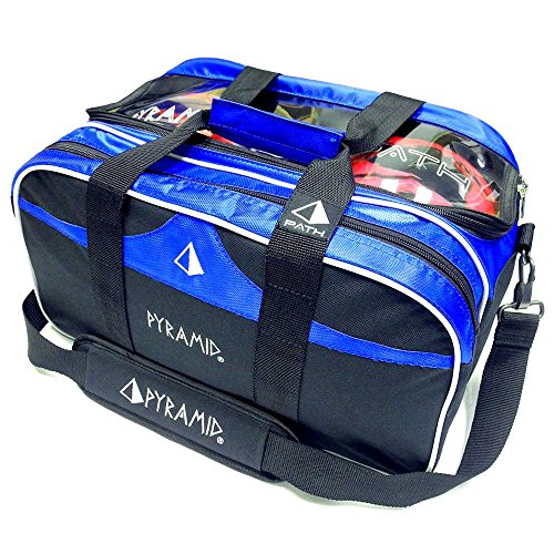 Pyramid Path Double Tote Plus Clear Top Blue