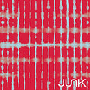 Image of JUNK Brands Red Tesseract Flex Tie Headband, Regular Width