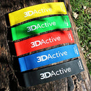 Image of 3DActive Exercise Resistance Loop Bands - Set of 5 Workout Bands. Best Resistance Bands for Legs, St