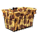 Image of Cruiser Candy Pineapples Bicycle Basket Liner
