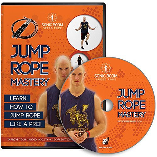 Jump Rope Mastery Dvd   Jump Rope Dvd With Routines, Exercises & Techniques To Improve Fitness, Agil
