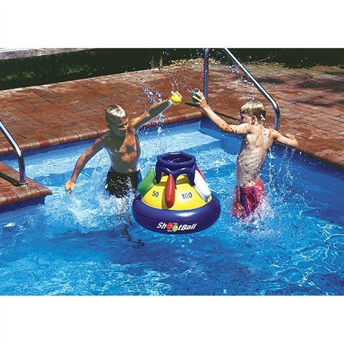 Swimline Shootball Floating Pool Basketball Game