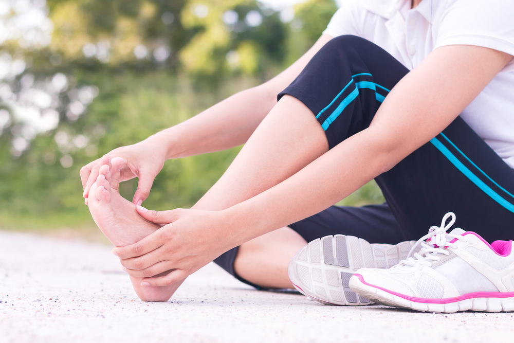 exercising with acute pain