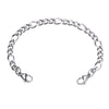 Stainless Steel Interchangeable Bracelet to Medical Alert for Women and Men-Fashion Figaro