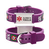 Allergic to Penicillin Alert Bracelet for kids-little girl