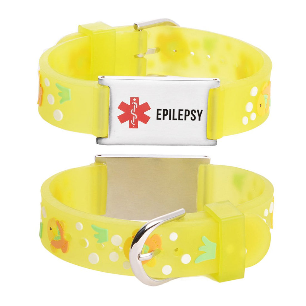 EPILEPSY bracelets for kids-Goldfish