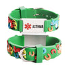 ASTHMA bracelets for kids-Carousel