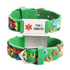 Type 1 Diabetes bracelets for kids-Carousel