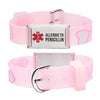 Allergic to Penicillin Alert Bracelet for kids-Pink Heart