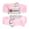 EPILEPSY bracelets for kids-Pink Heart