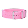 NUT ALLERGY Bracelets for Boys & Girls-Pink Canvas band