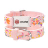 linnalove cartoon medical alert id epilepsy bracelets Parents gift to Son, daughter, brother, sister-Pink little sheep