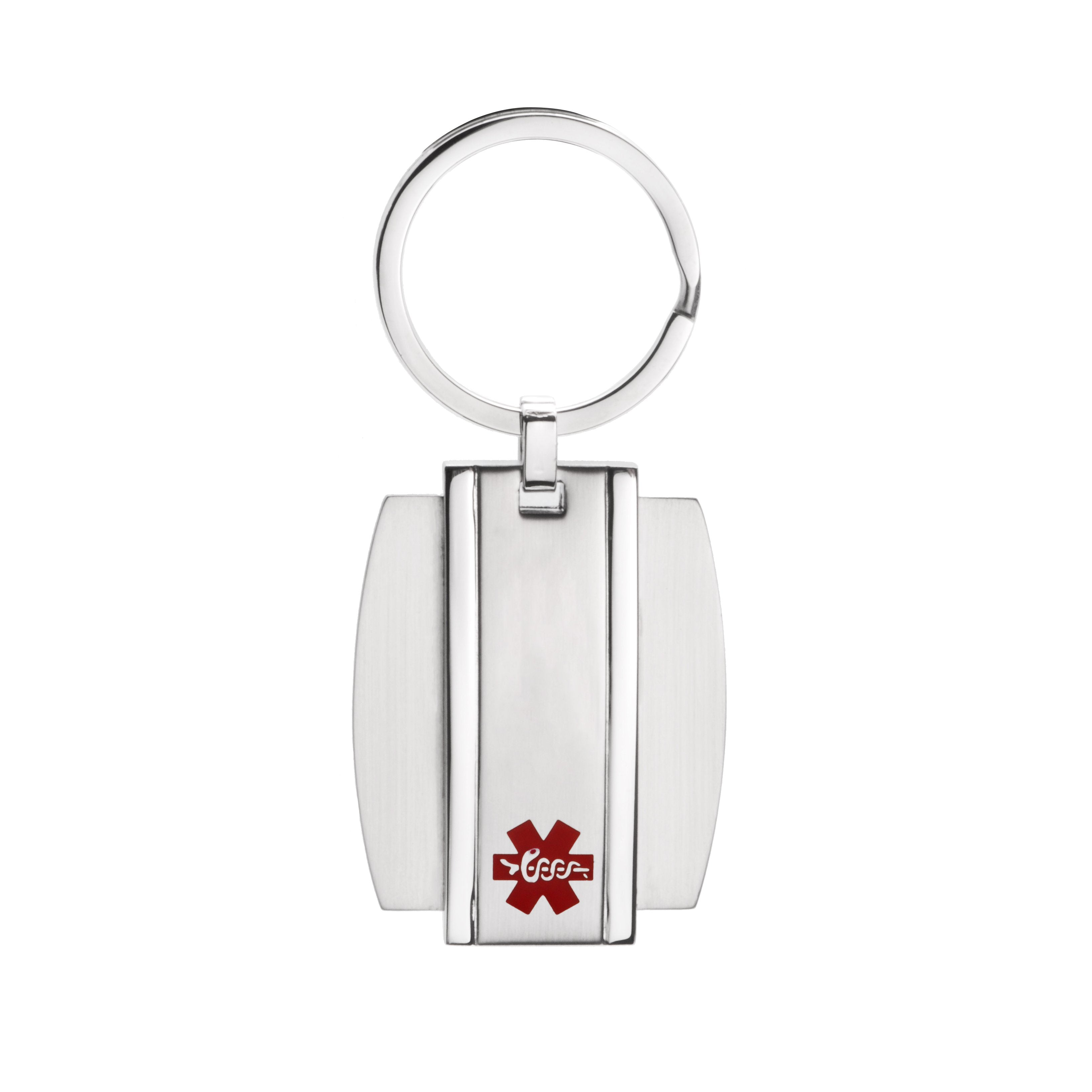 Medical alert id Key chain with free engraving(916)