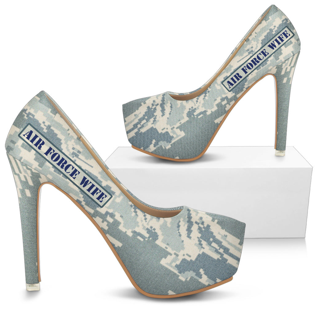 Air Force Wife Digital Tiger Stripe Camo