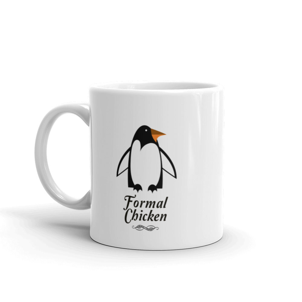 Funny Formal Chicken Mug made in the USA