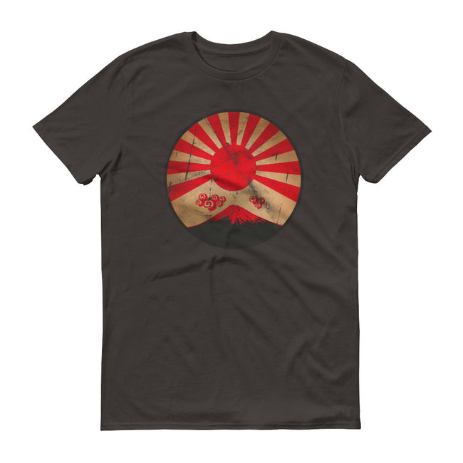 Japanese Nuclear Sunset Mt. Fuji Short-Sleeve T-Shirt for Men