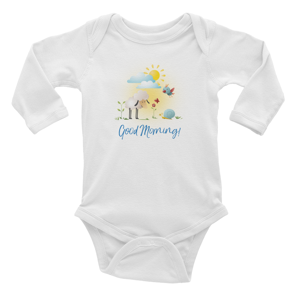 Good Morning Infant Long Sleeve Bodysuit