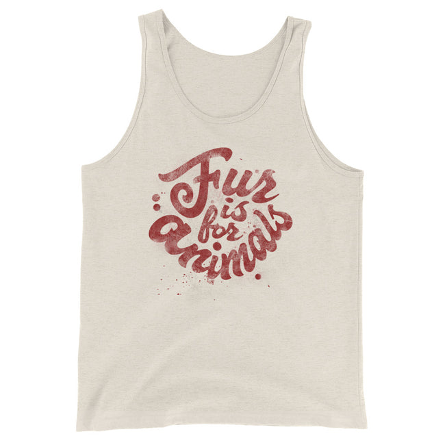 Fur is for Animals Unisex  Tank Top