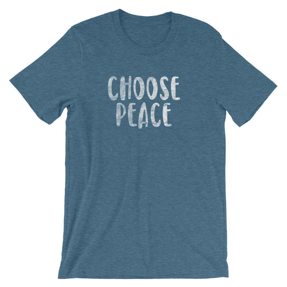 Choose Peace Unisex Short Sleeve T-Shirt