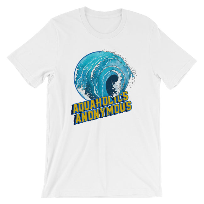 Aquaholics Anonymous Unisex T-Shirt for Divers, Surfers, Swimmers