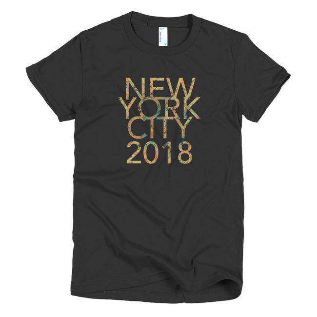 Awesome New York City 2018 Short sleeve women's t-shirt