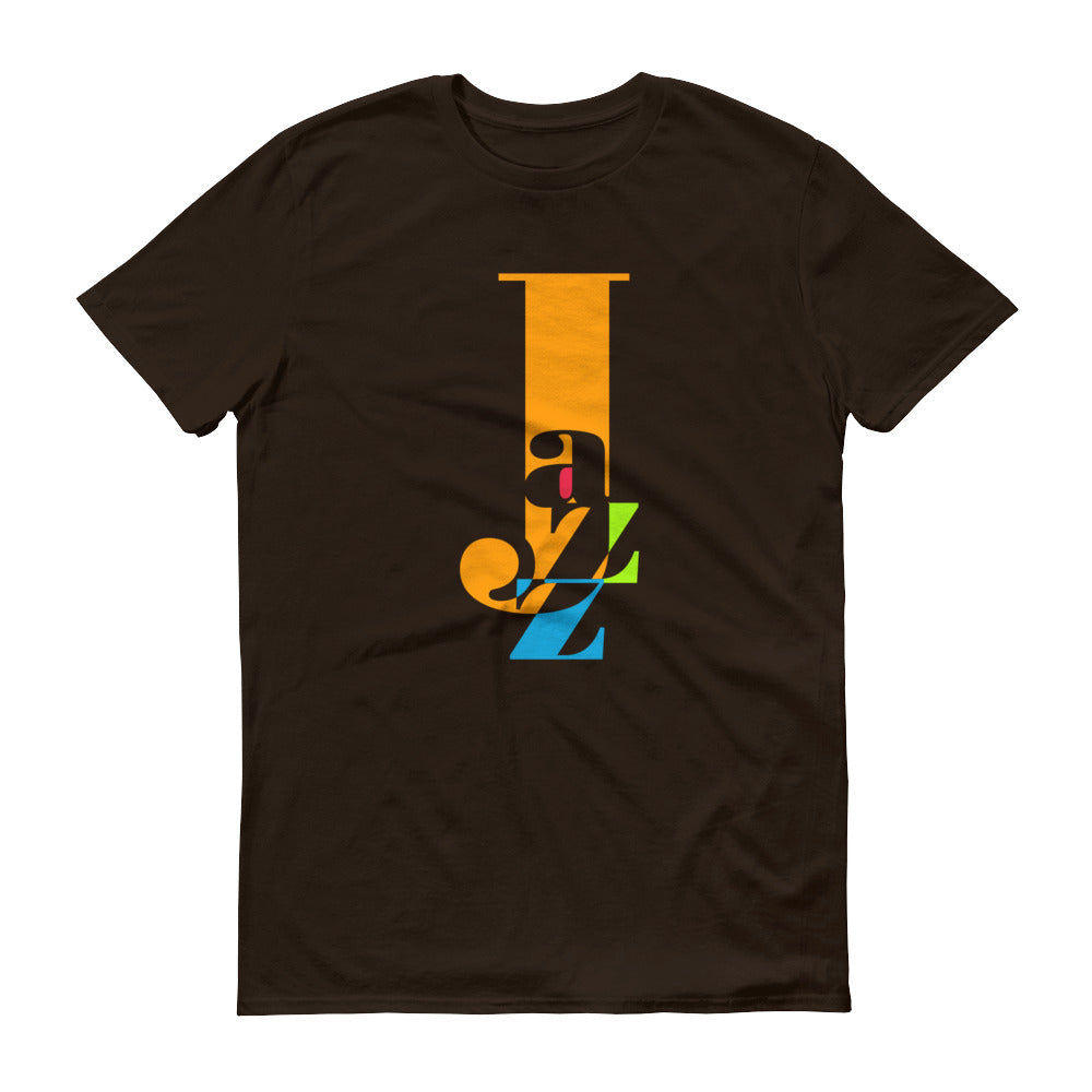 Jazz --Very Cool Graphic Tshirts for the Music Lover