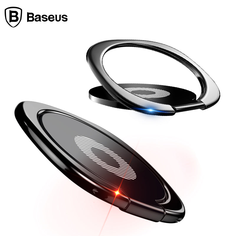 Baseus Universal Mobile Phone Holder 360 Degree Rotation Finger Ring Holder