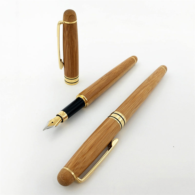 Creative Brand Writing Elegant Bamboo Fountain Pen