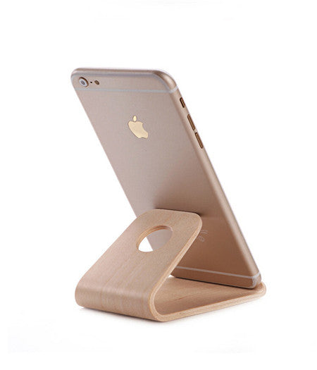 Phone Charging Dock Station For Apple Watch, iPhone, iPad Wooden Stand Charger USB Port