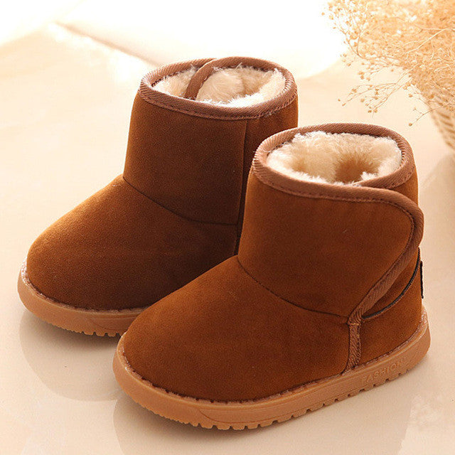 Cute Baby's First Winter Boots