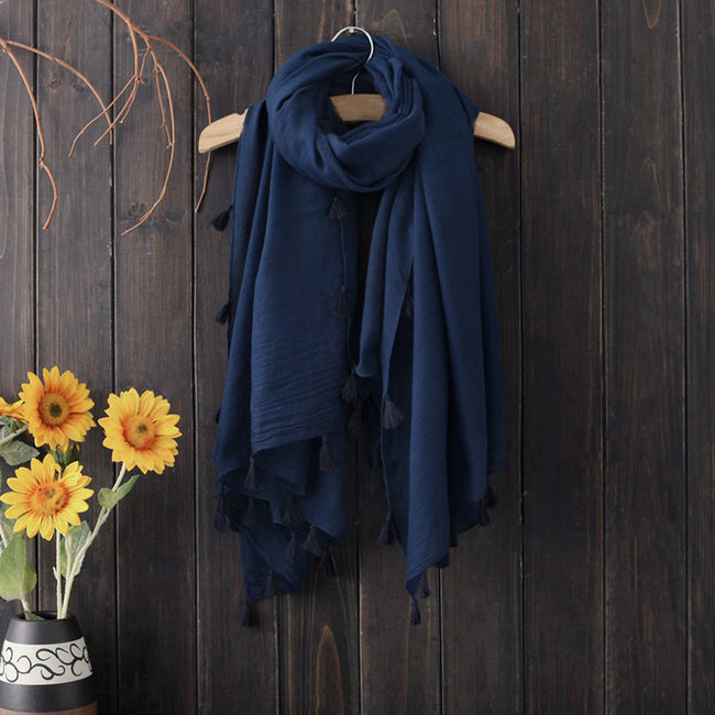 Unisex Woolen Winter Scarf Wrap in 3 Colors