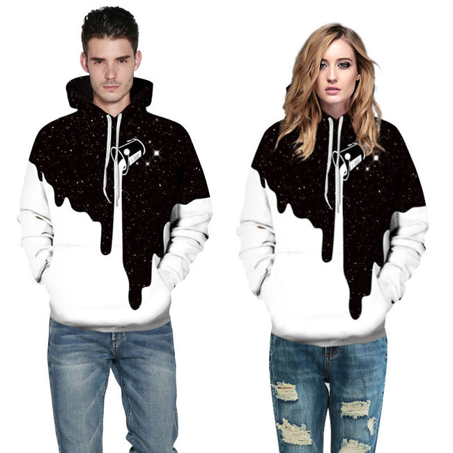 Uni-sex Fashion 3D Sportswear Hip Hop-Printed Clothing Sweatshirts Hoodies