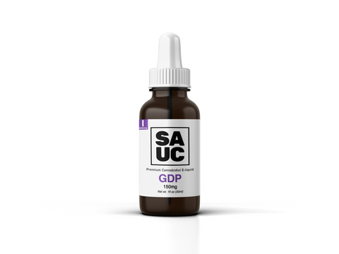 CBD E-liquid - Granddaddy Purple - SAUC