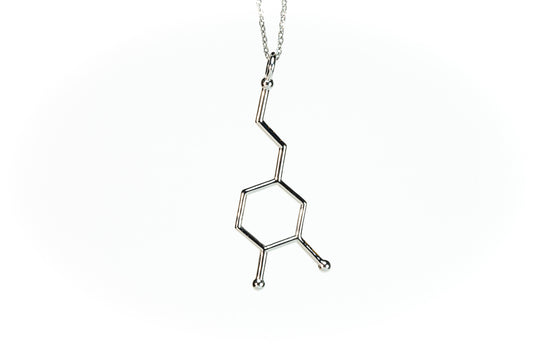 (Large) BioChem Dopamine Necklace Pendant with Chain